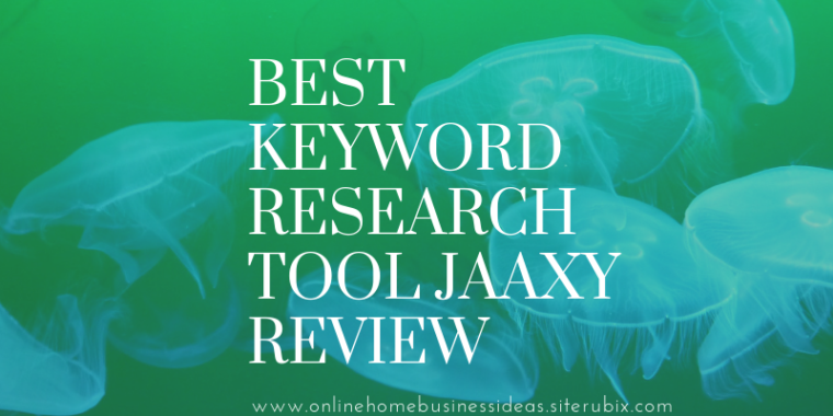 Keyword finder tool Jaaxy review